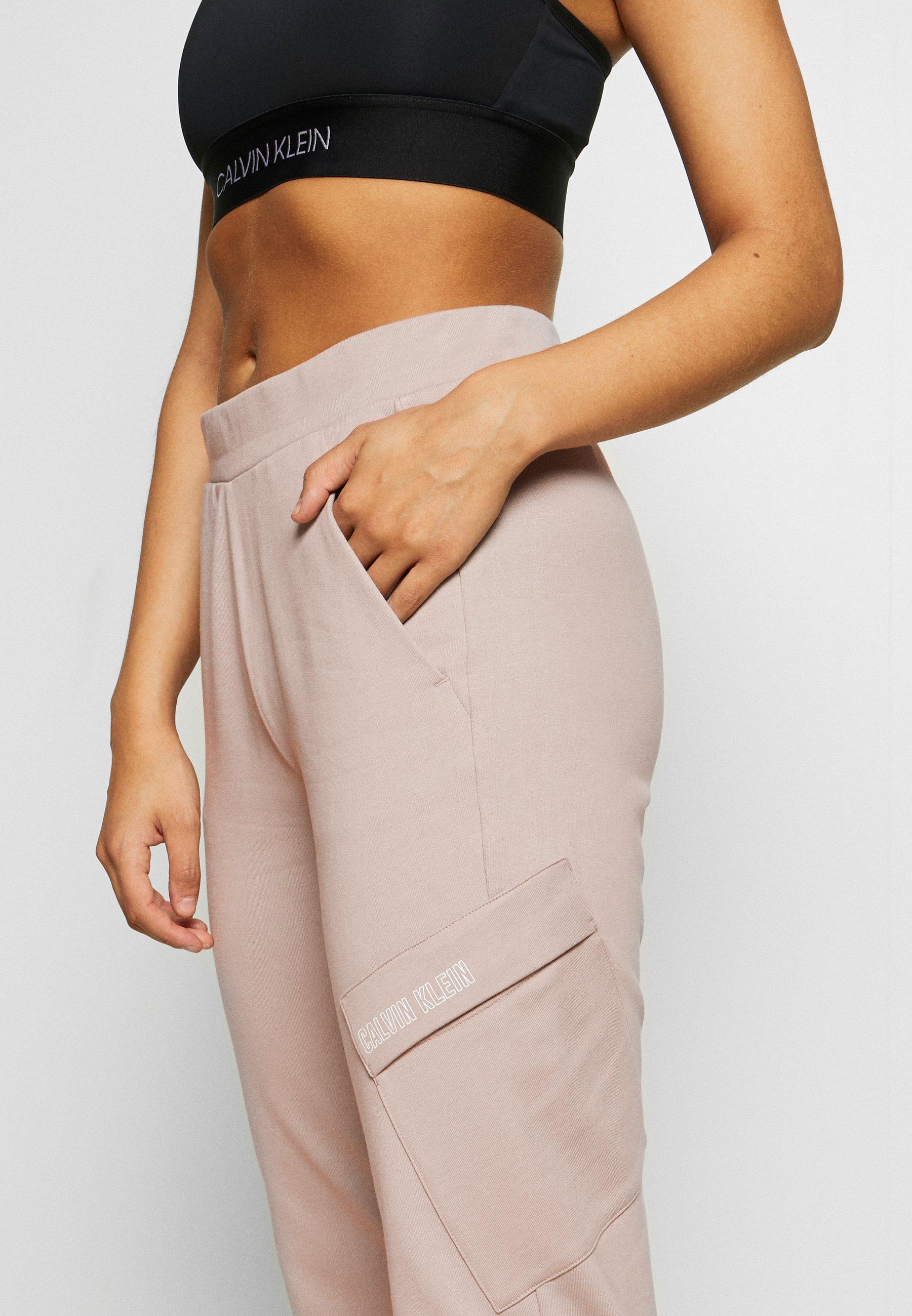 Calvin Klein Performance Pants - Pantalon De Survêtement Beige ugzQF7U