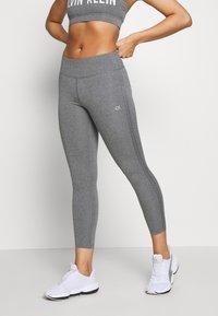 Calvin Klein Performance - FULL LENGTH - Leggings - grey - 0