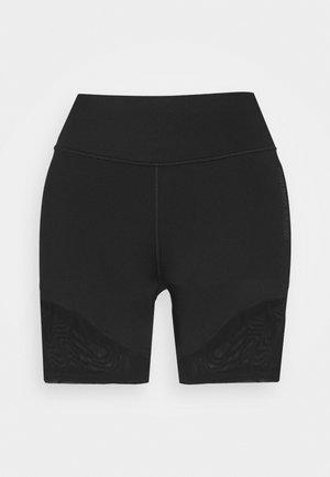 SHORT - Leggings - black