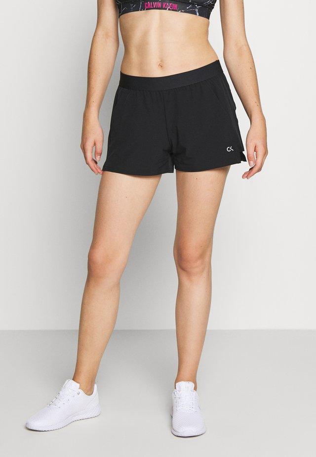 SHORT - Sportovní kraťasy - black