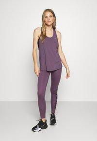Calvin Klein Performance - FULL LENGTH - Punčochy - purple - 1