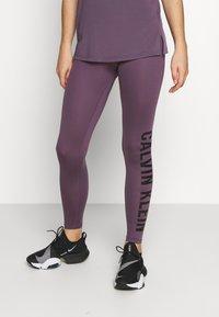 Calvin Klein Performance - FULL LENGTH - Punčochy - purple - 0