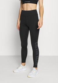 Calvin Klein Performance - FULL LENGTH - Leggings - black - 0