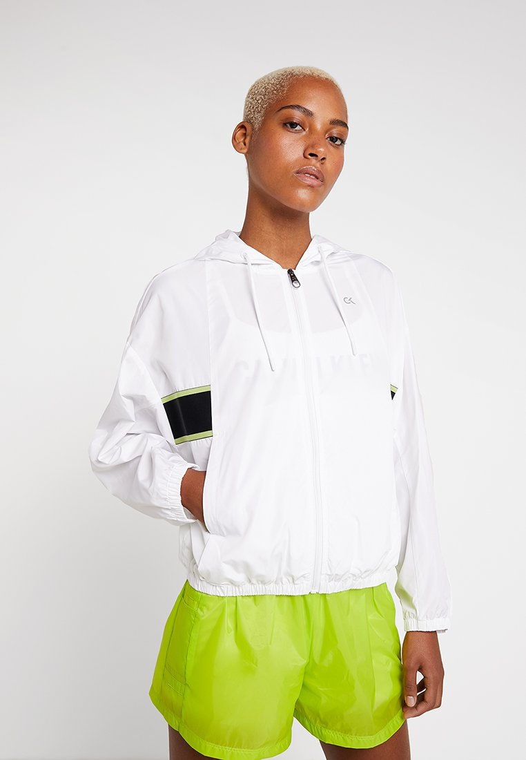Calvin Klein Performance - Trainingsjacke - bright white
