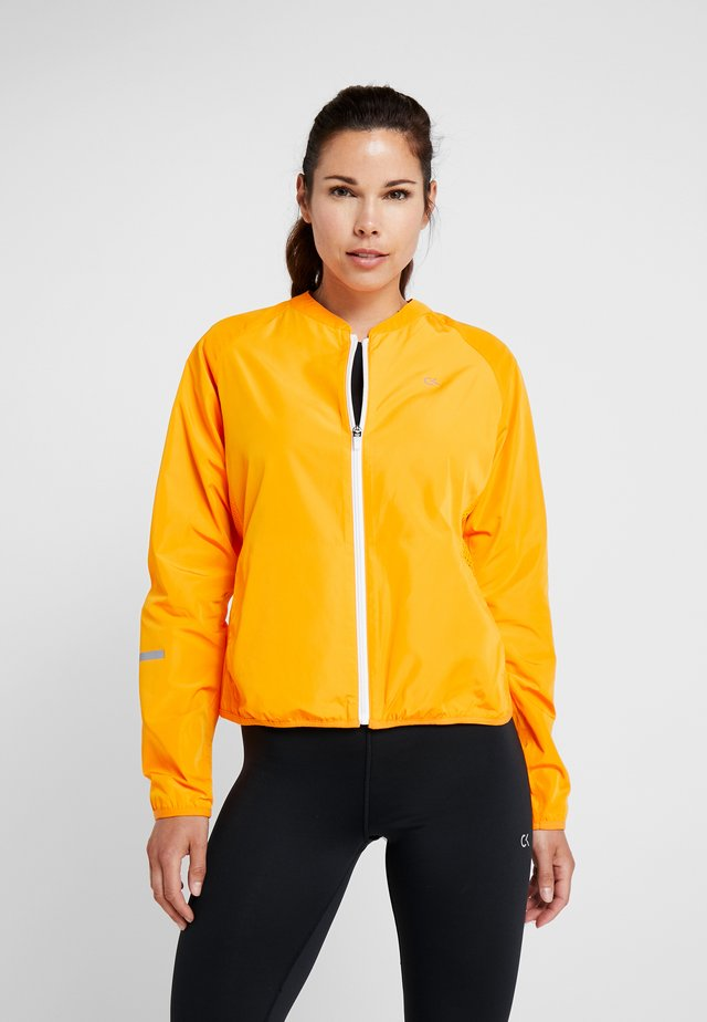 PACKABLE - Windbreaker - orange