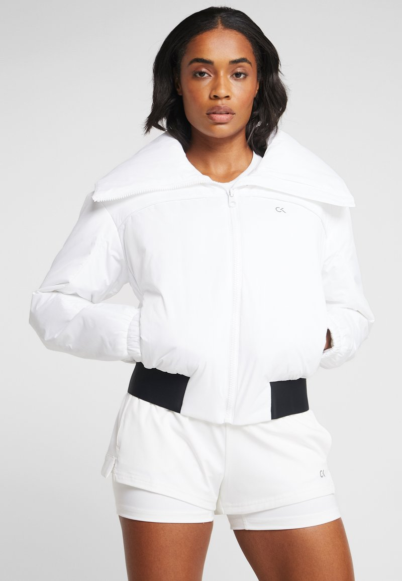 Calvin Klein Performance - LIGHT WEIGHT PADDED JACKET - Kurtka sportowa - white