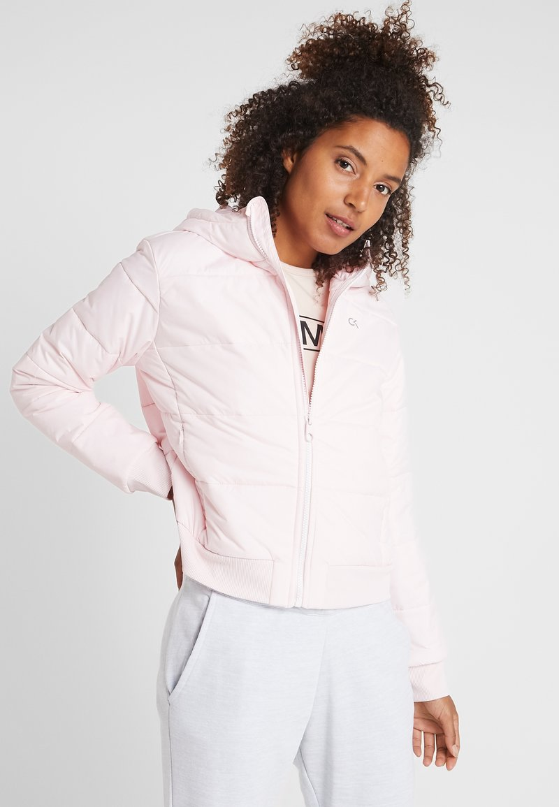 Calvin Klein Performance - LIGHT WEIGHT PADDED JACKET - Winter jacket - pink
