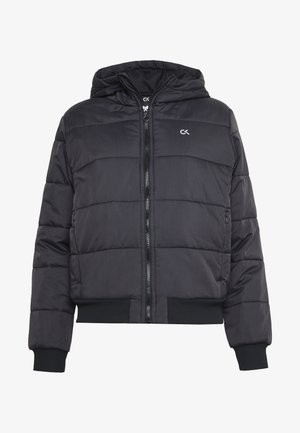 LIGHT WEIGHT PADDED JACKET - Zimní bunda - black