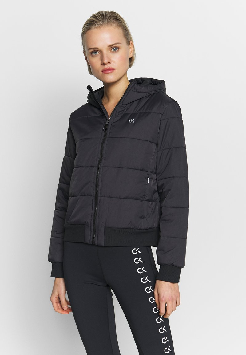 Calvin Klein Performance - LIGHT WEIGHT PADDED JACKET - Chaqueta de invierno - black