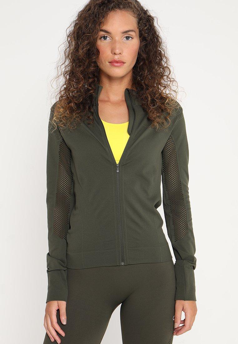 Calvin Klein Performance - SEAMLESS  - Trainingsjacke - green