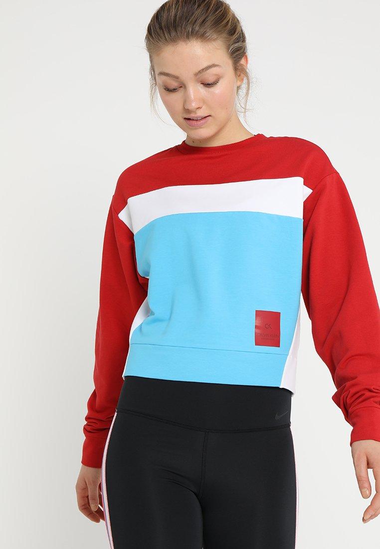 Calvin Klein Performance - Sweatshirt - red