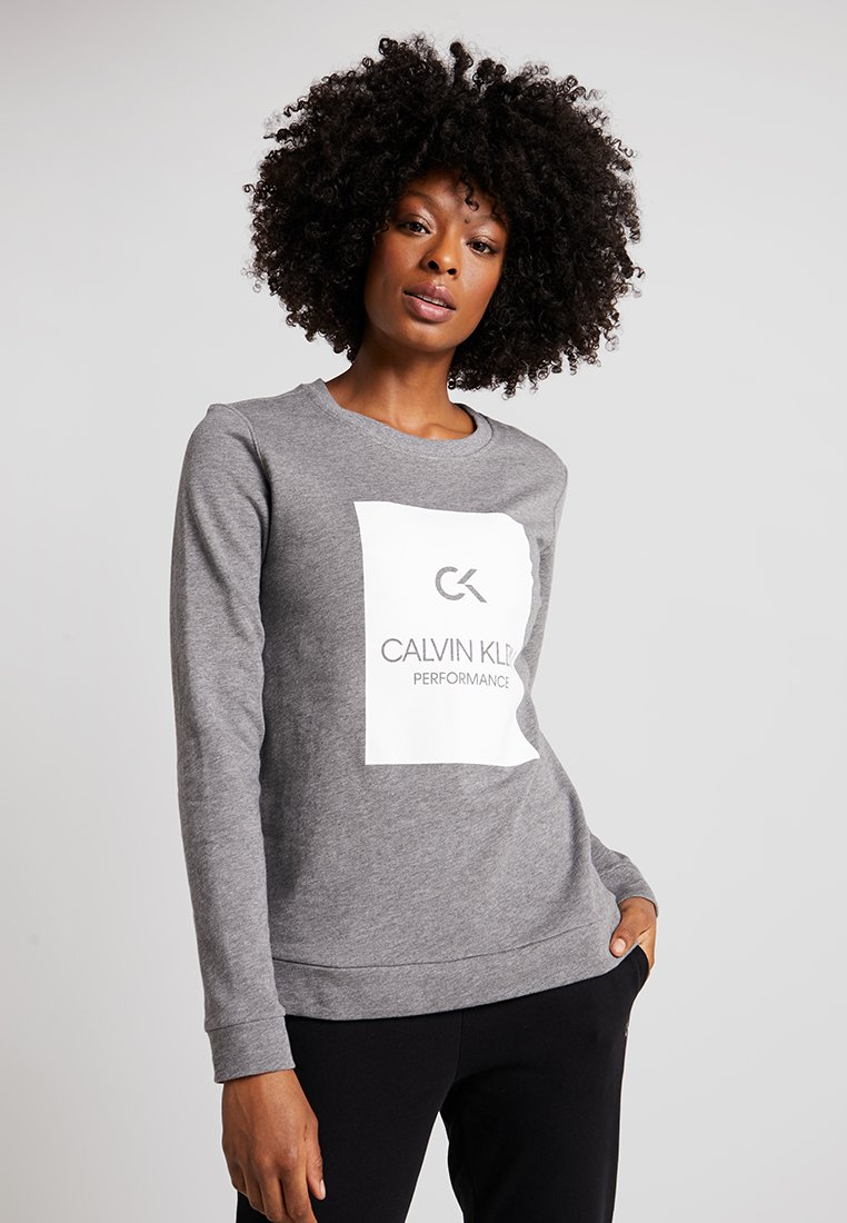 Calvin Klein Performance - Sweatshirt - medium grey heather