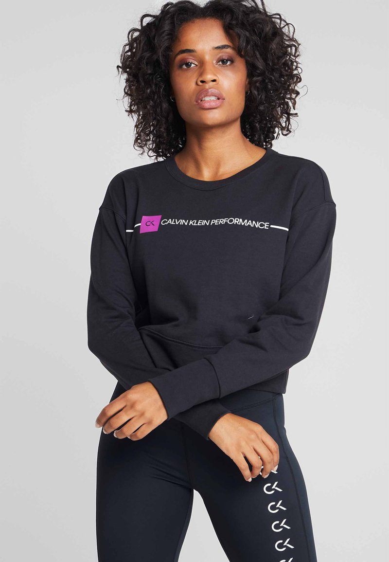 Calvin Klein Performance - Sweater - black