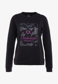 Calvin Klein Performance - BILLBOARD PULLOVER - Sweatshirt - black - 5