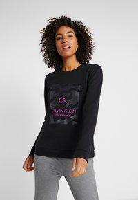 Calvin Klein Performance - BILLBOARD PULLOVER - Sweatshirt - black - 0