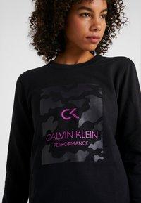 Calvin Klein Performance - BILLBOARD PULLOVER - Sweatshirt - black - 6