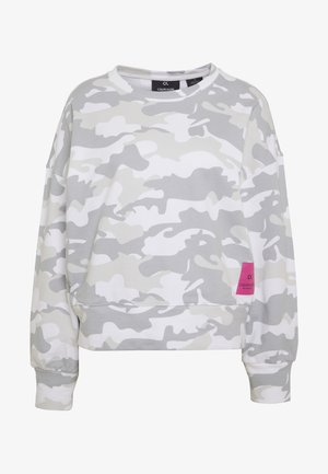 CROPPED PULLOVER - Sweatshirt - white