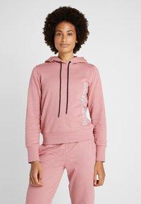 Calvin Klein Performance - HOODIE - Huppari - pink - 0
