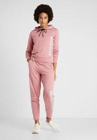 Calvin Klein Performance - HOODIE - Huppari - pink - 1