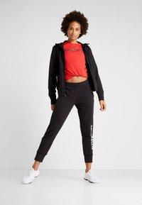 Calvin Klein Performance - FULL ZIP HOODED JACKET - Hoodie met rits - black - 1