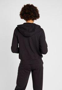 Calvin Klein Performance - FULL ZIP HOODED JACKET - Hoodie met rits - black - 2