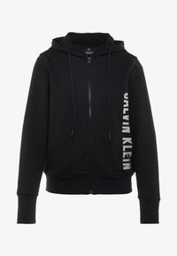 Calvin Klein Performance - FULL ZIP HOODED JACKET - Hoodie met rits - black - 3