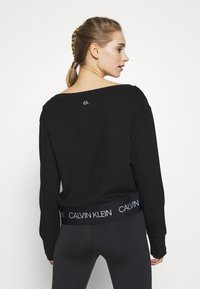 Calvin Klein Performance - Long sleeved top - black - 2