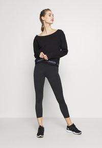 Calvin Klein Performance - Long sleeved top - black - 1