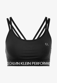 Calvin Klein Performance - LOW SUPPORT BRA - Sports bra - black - 5