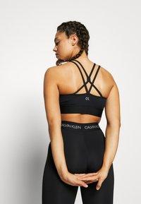 Calvin Klein Performance - LOW SUPPORT BRA - Sports-BH - black - 2