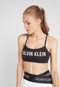 Calvin Klein Performance - ASYMMETRIC SKIRT - Sports skirt - white - 3