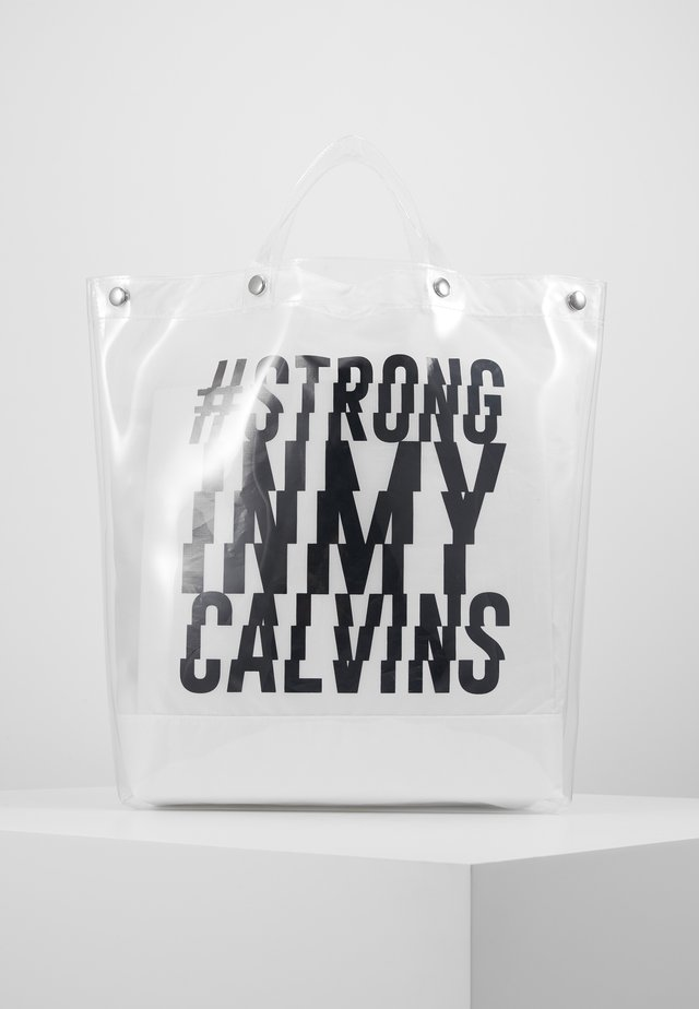 STRONG TOTE BAG - Urheilukassi - white