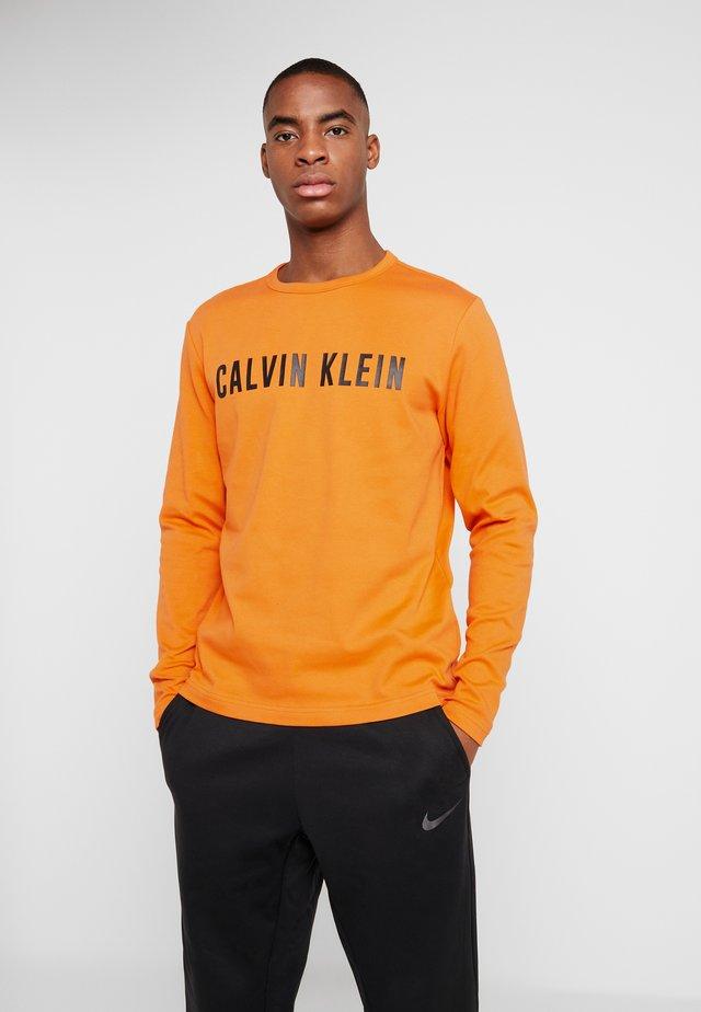 LOGO - T-shirt à manches longues - orange