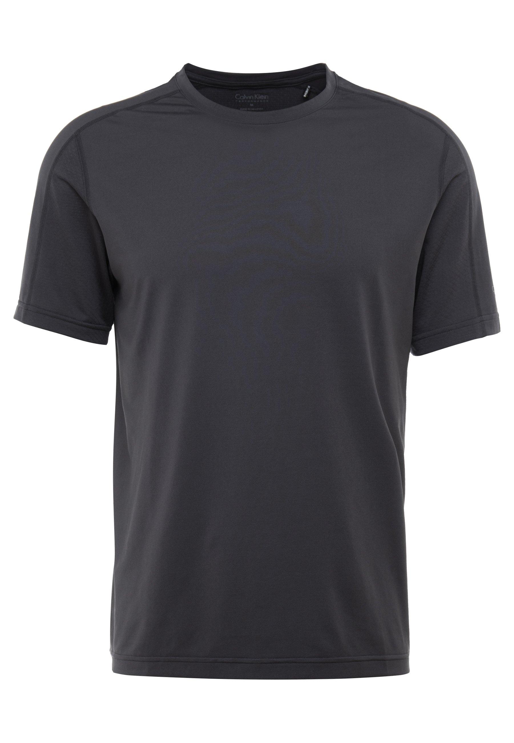 Calvin Klein Performance Tee - T-shirt Con Stampa Grey irunqC3