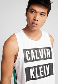 Calvin Klein Performance - LOGO TEE - Top - white - 4