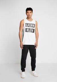 Calvin Klein Performance - LOGO TEE - Top - white - 1