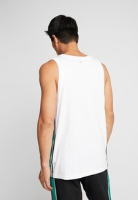 Calvin Klein Performance - LOGO TEE - Top - white - 2