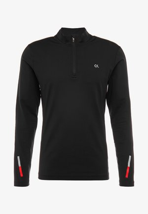 ZIP LONG SLEEVE - Longsleeve - black