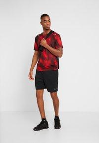 Calvin Klein Performance - SHORT SLEEVE  - T-shirt con stampa - red - 1