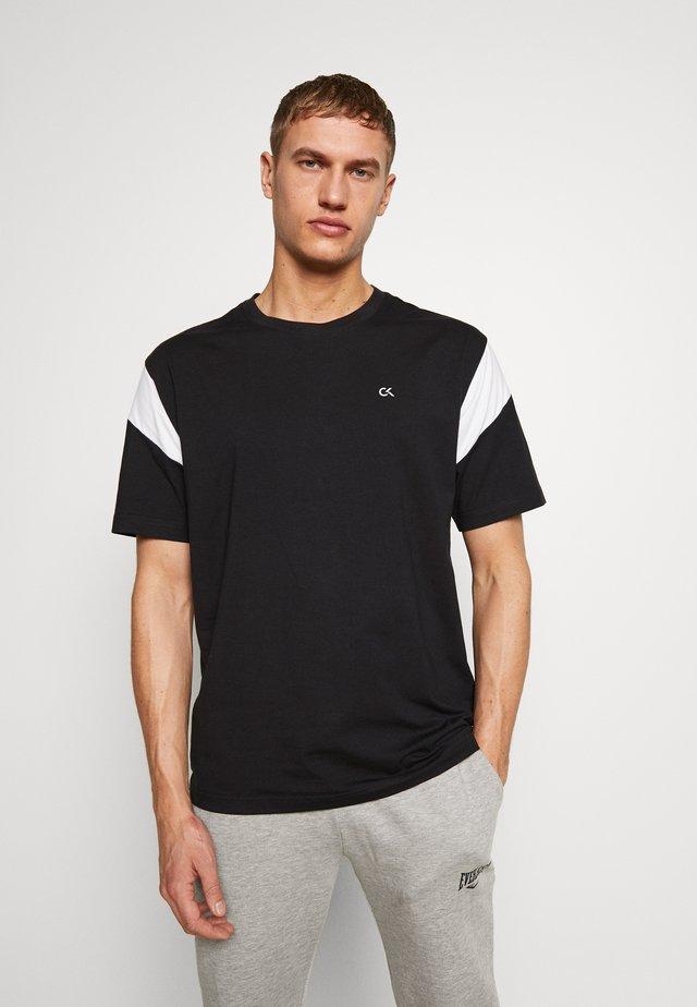 SHORT SLEEVE - T-shirt imprimé - black