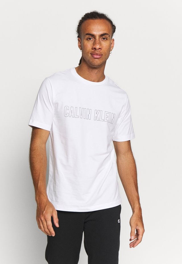 SHORT SLEEVE - T-shirt med print - white