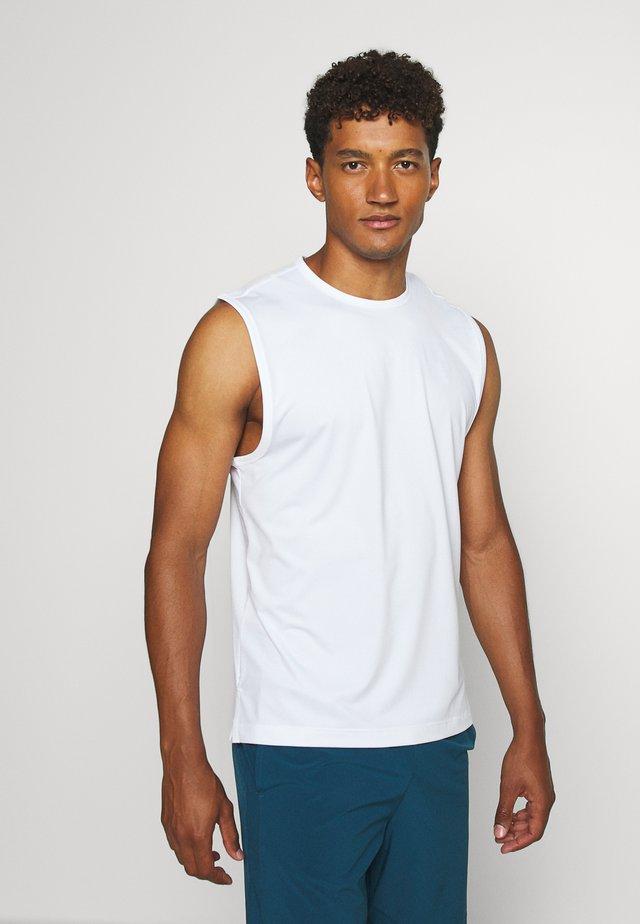 TANK - Sportshirt - white