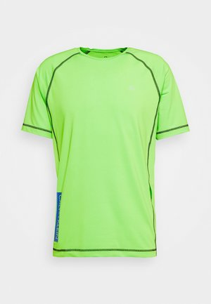 SHORT SLEEVE - T-shirt z nadrukiem - green