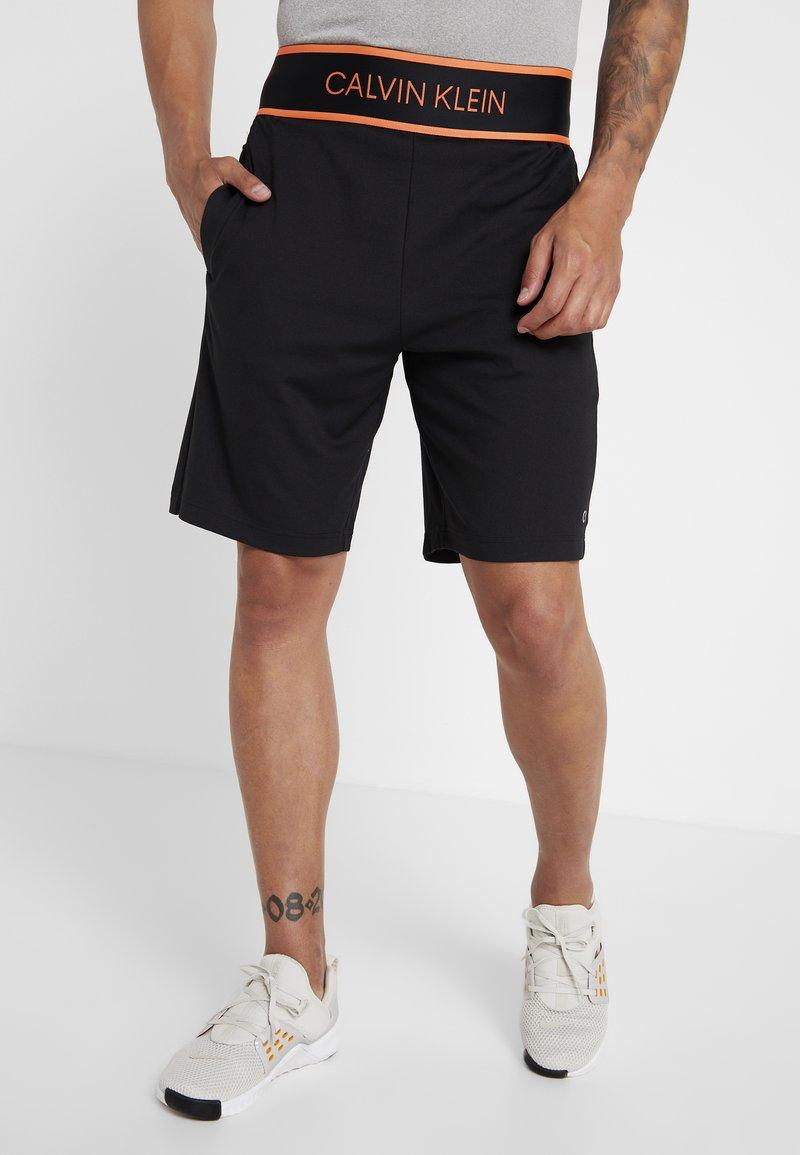 Calvin Klein Performance - SHORT - Sportovní kraťasy - black