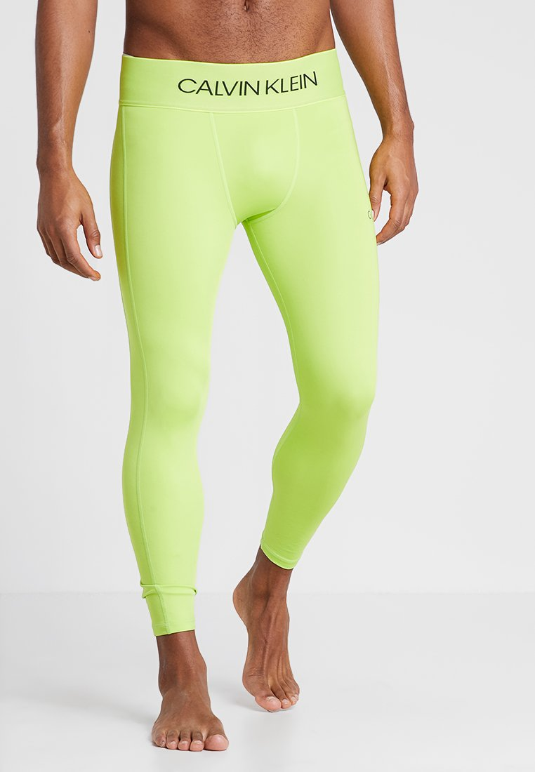 Calvin Klein Performance - Tights - lime punch/black