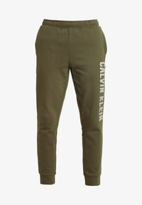Calvin Klein Performance - PANTS - Tracksuit bottoms - green - 4