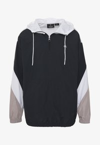 Calvin Klein Performance - HOODED JACKET - Verryttelytakki - black - 4