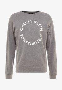 Calvin Klein Performance - Mikina - medium grey heather - 5