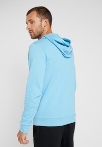 Calvin Klein Performance - HOODY - Hoodie - ethereal blue/bright white - 2