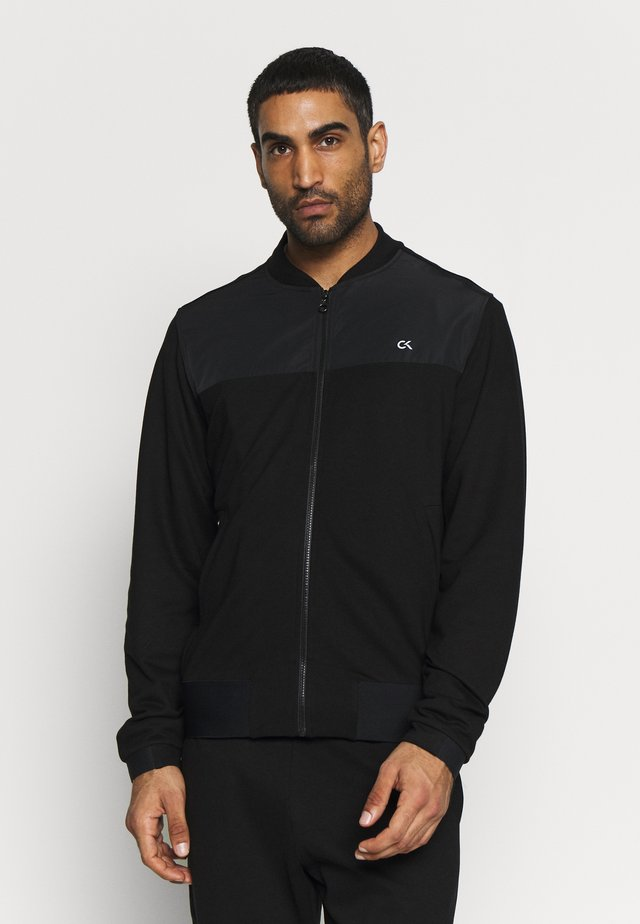 BOMBER JACKET - Trainingsjacke - black